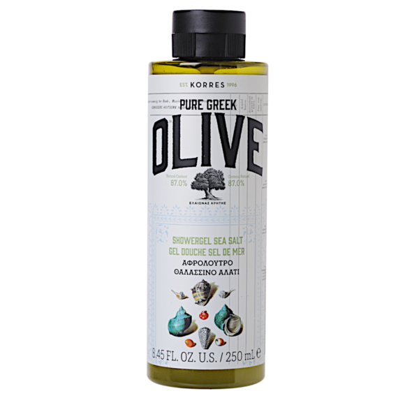 PURE GREEK OLIVE - SEA SALT suihkugeeli 250mL