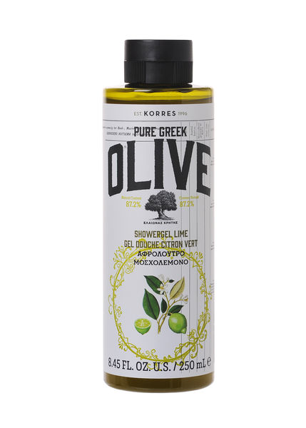PURE GREEK OLIVE - LIME suihkugeeli 250mL, UUTUUS