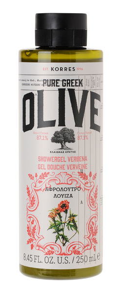 PURE GREEK OLIVE - VERBENA suihkugeeli 250mL