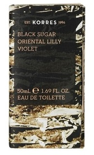 BLACK SUGAR / ORIENTAL LILLY / VIOLET eau de toilette 50mL